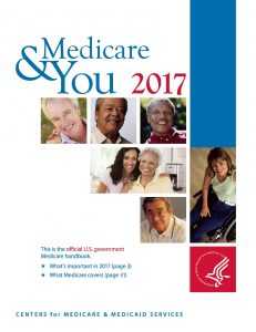 Medicare and You Booklet 2017 Showing Medicare's Preventive Services